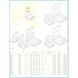 KMR - uholník montážny nastavitelný
