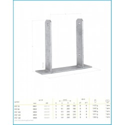 PST - pätka stĺpika typu TT