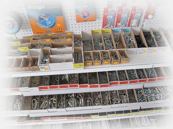 Tovar na predajni - Šróbik plus